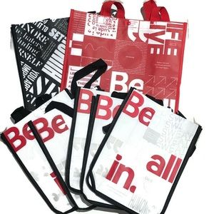 Lululemon Reusable shopping bags 2 large 5 small